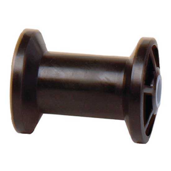 tiedown-engineering-rubber-keel-roller-spool-4-hole-5-8-black