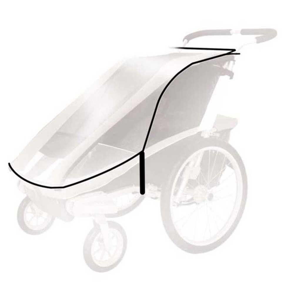 Thule Chariot Cougar 1/cx1 Rain Cover One Size Clear