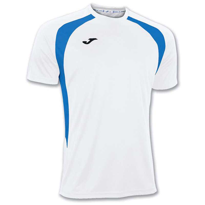 Joma Champion Iii S/s 6XS-5XS White / Royal