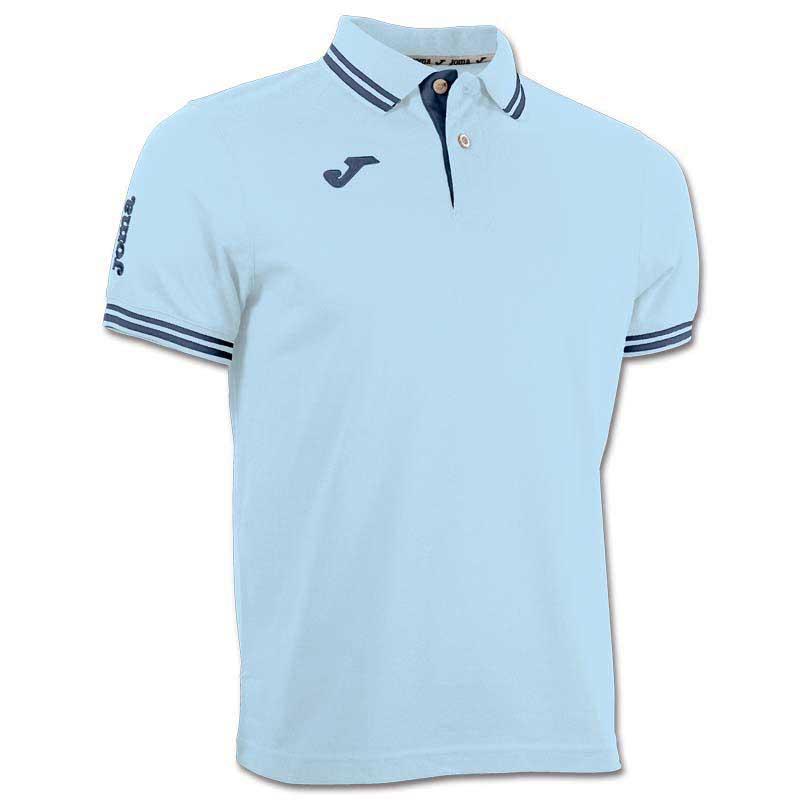 Joma Bali Polo S/s Shirt S Sky / Navy