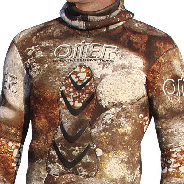 Omer Omer Omer Camu 3d Compressed Jacket 5 Mm Multicolore , Muta umida Omer , immersione 3ee890