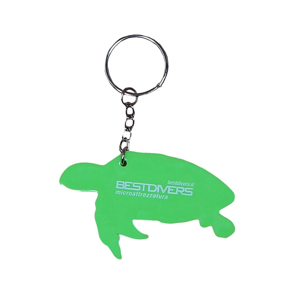 best-divers-keyring-turtle-one-size