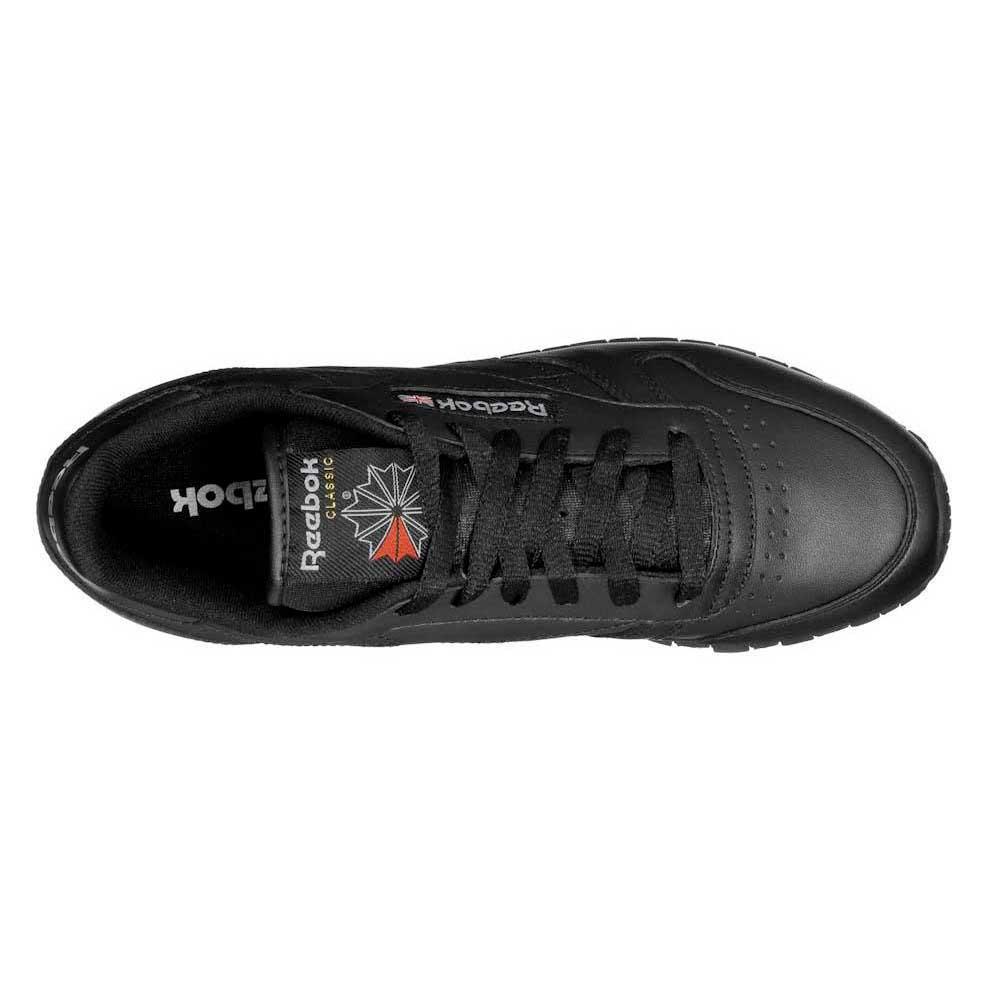 reebok classic leather mujer negro