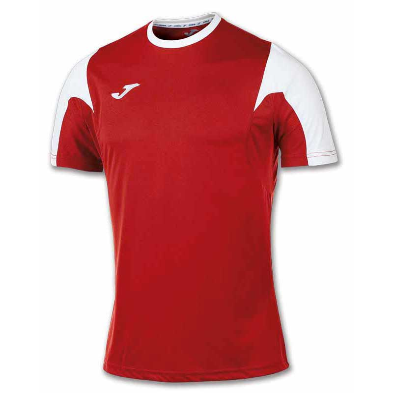Joma T-shirt Manche Courte Estadio 7-10 Years Red / White