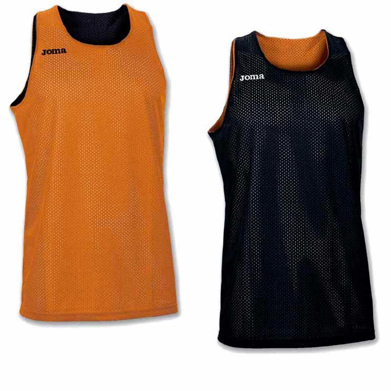 Joma T-shirt Sans Manches Aro Reversible S Orange