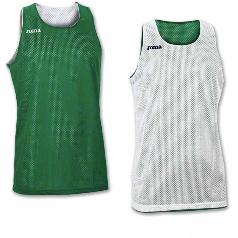 Joma T-shirt Sans Manches Aro Reversible 4-6 Years Green