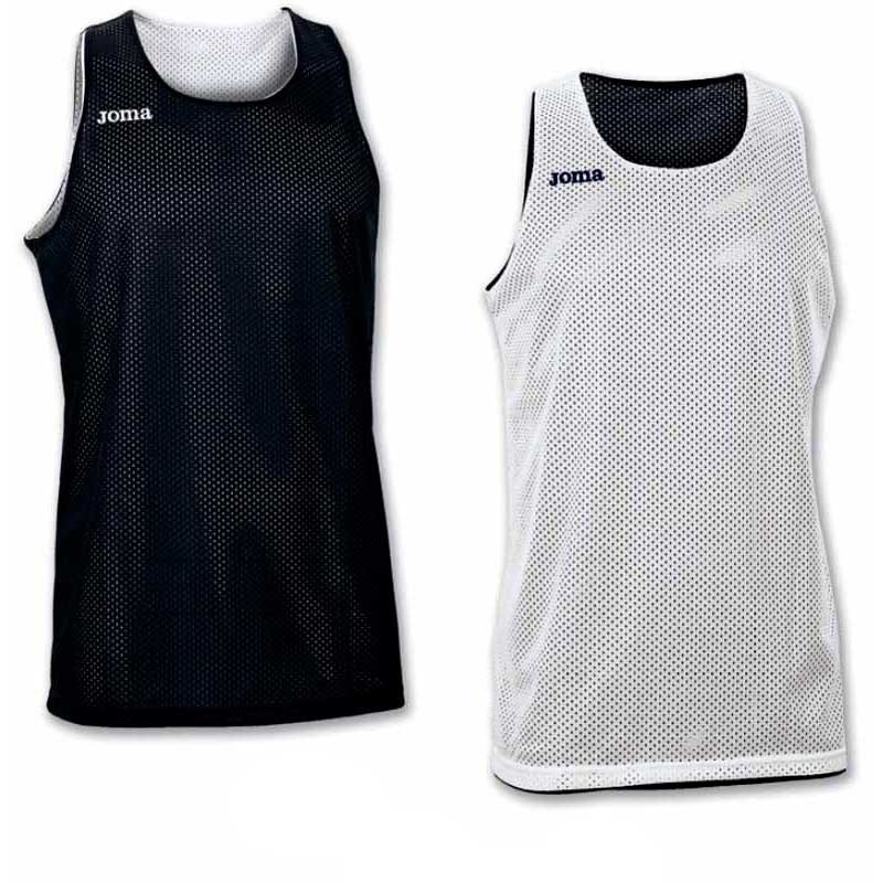 Joma T-shirt Sans Manches Aro Reversible 4-6 Years Black