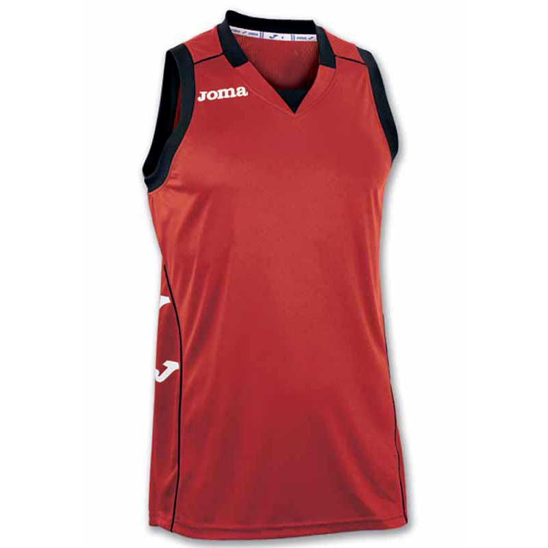 Joma Cancha Ii Braces T-shirt S Red