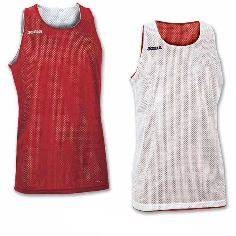 Joma T-shirt Sans Manches Aro Reversible 4-6 Years Red