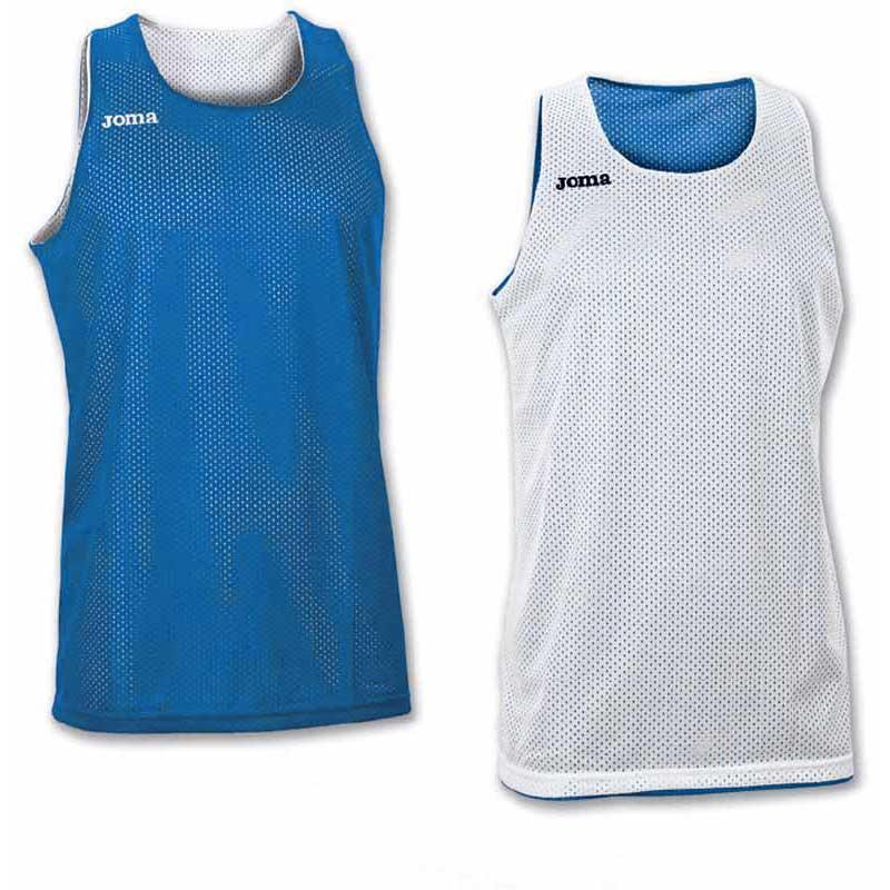 Joma T-shirt Sans Manches Aro Reversible 4-6 Years Royal