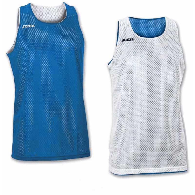 Joma T-shirt Sans Manches Aro Reversible S Royal
