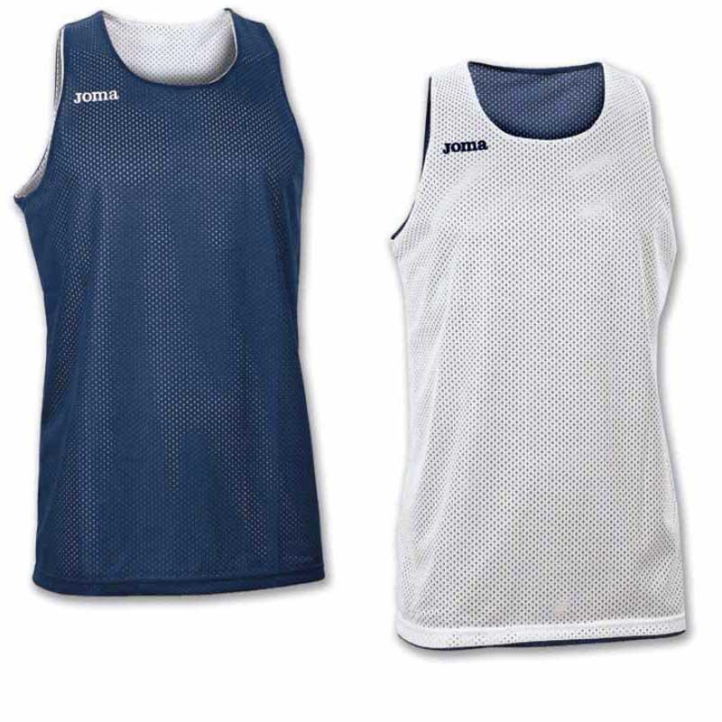 Joma T-shirt Sans Manches Aro Reversible L Navy