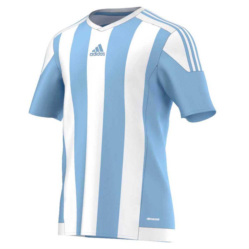 Adidas Striped 15 140 cm Blue Celest / White