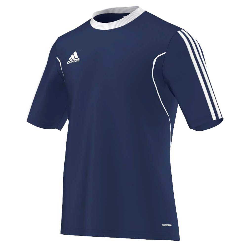 Adidas Squadra 13 Short Sleeve T-shirt 140 cm Navy / White