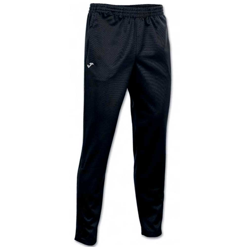 Joma Interlock Poly Long Pant S Black