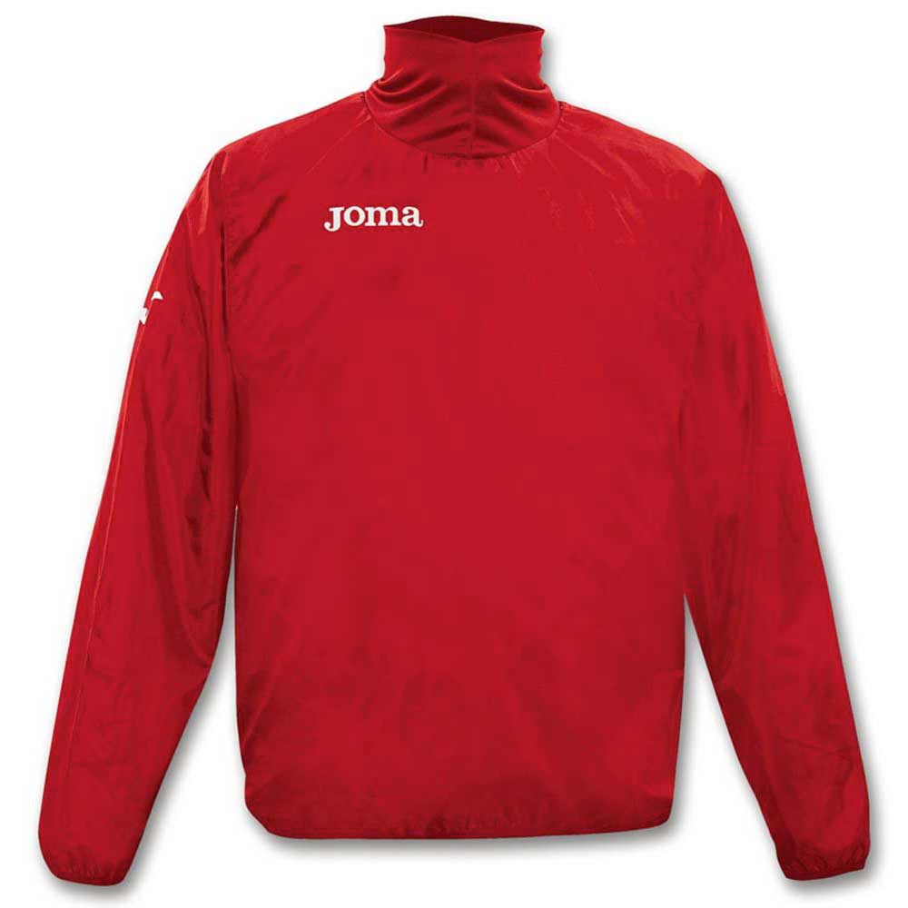 Joma Windbreaker Polyester S Red