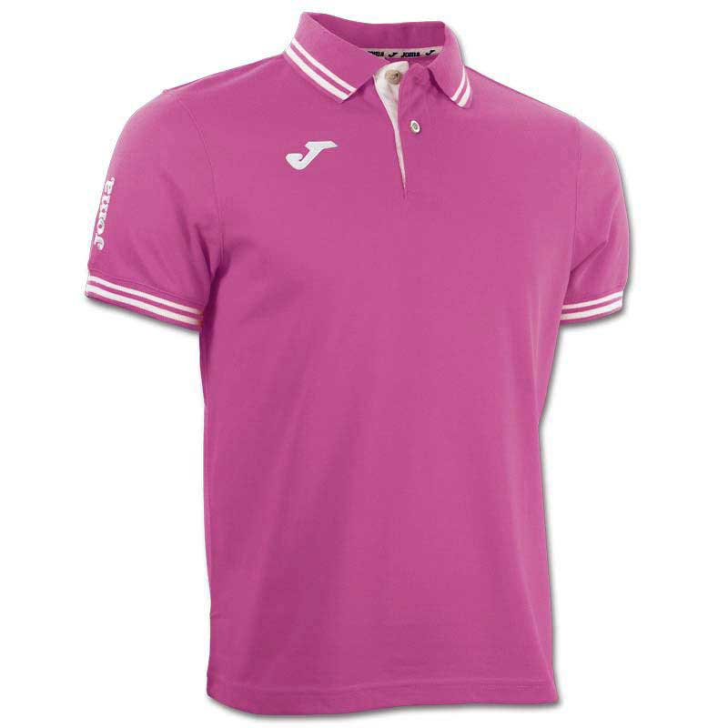 Joma Bali Polo S/s Shirt 04 Raspberry