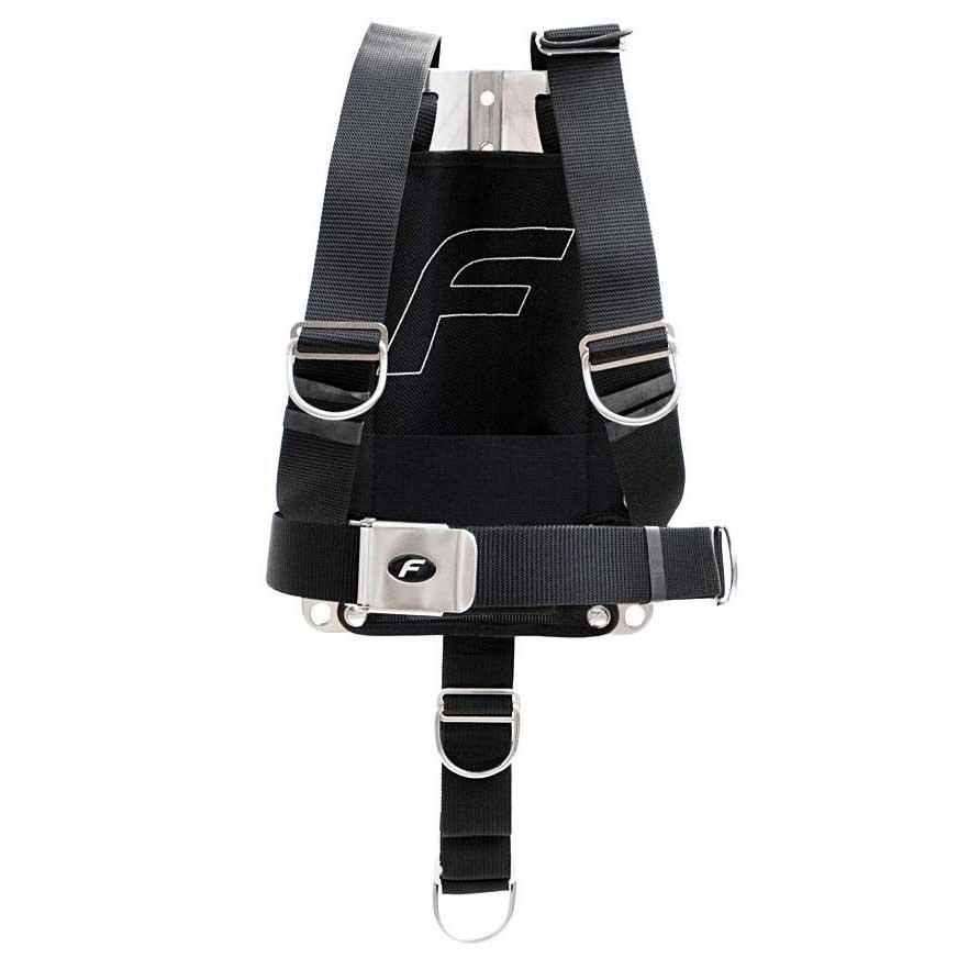 Fly Harness Dir 3 mm Ss Backplate S-XL Einzelteile Harness Dir 3 Mm Ss Backplate