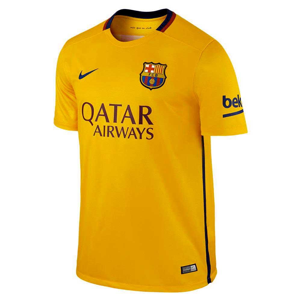 Nike Fc Barcelona Away 15/16 S Yellow