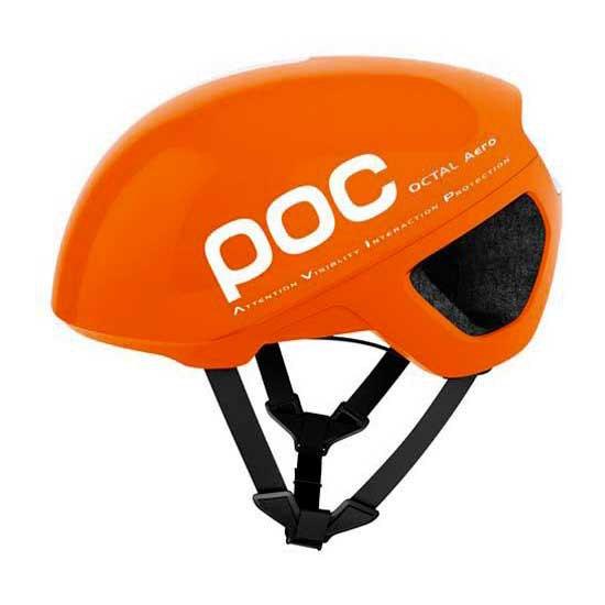 Poc Casco Carretera Octal Aero Avip S Zink Orange