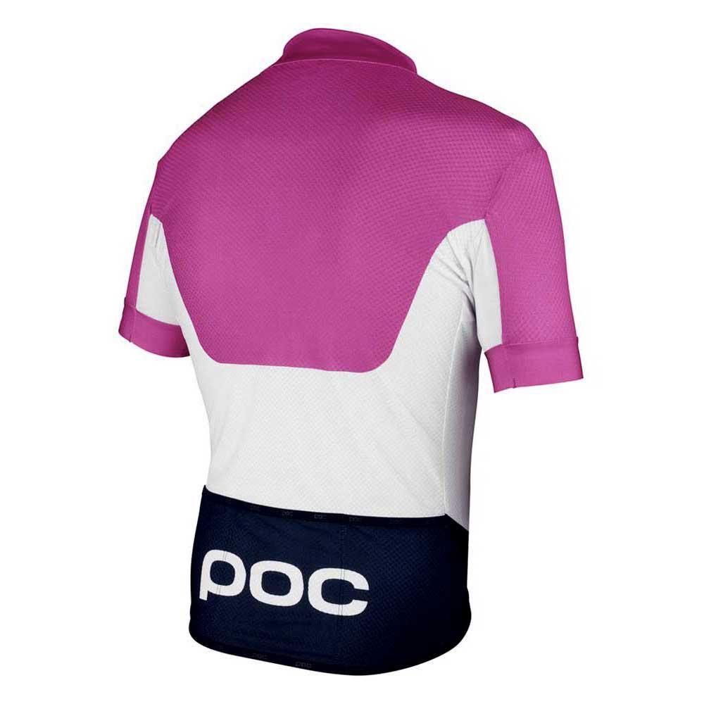 Poc Maglie Pink Raceday White Fluorescent Climber Jersey Hydrogen rIrA0q