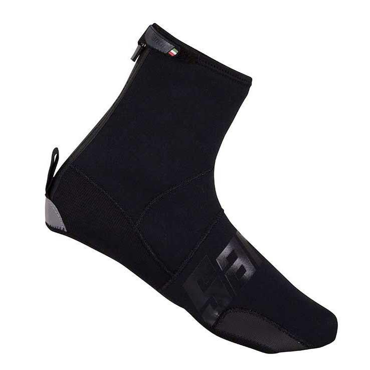 Santini Neo Dark Shoe Covers XXL Black