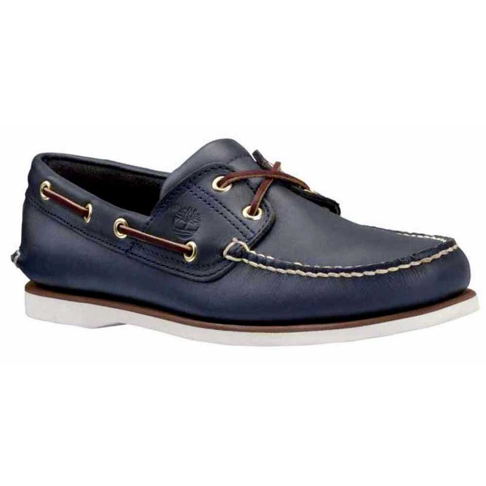 timberland-classic-2-eye-shoes-wide-eu-41-1-2-smooth-navy