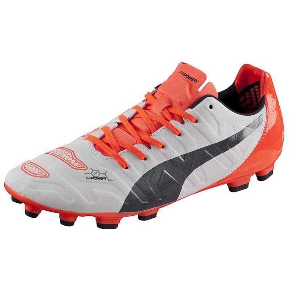 Puma Evopower 2.2 Ag EU 41 White / Total Eclipse / Lava