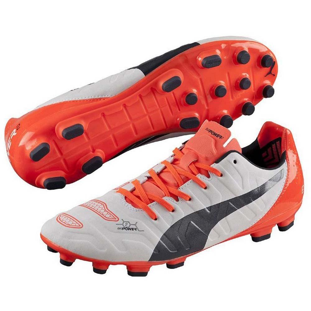 2fb4927e44982 Puma Evopower 2.2 Ag White   Total Eclipse   Lava