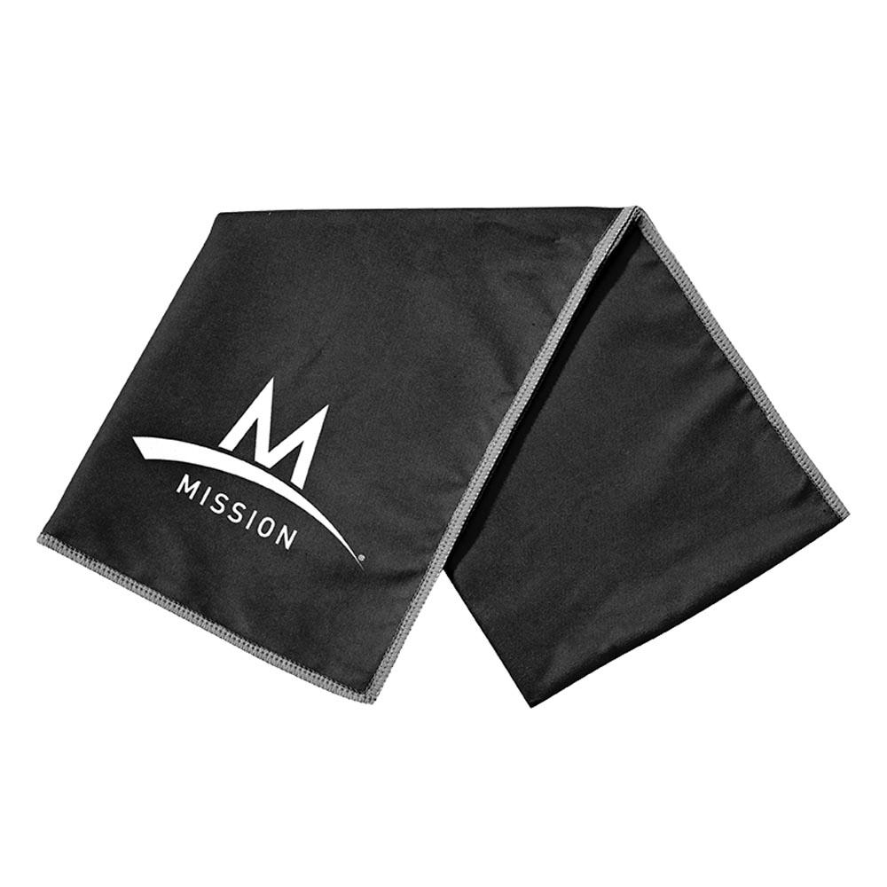 Mission Enduracool Large Microfibre 84 x 31 cm Black