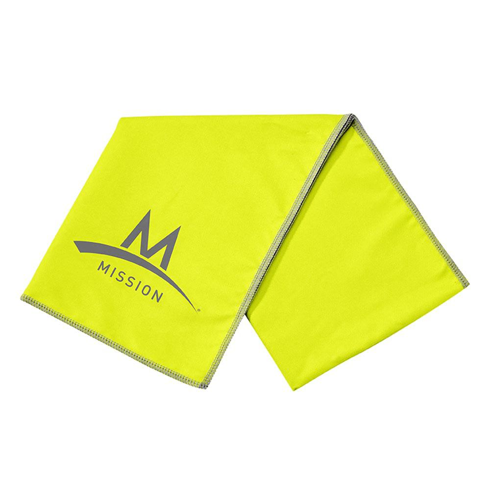Mission Enduracool Large Microfibre 84 x 31 cm High Vis Green