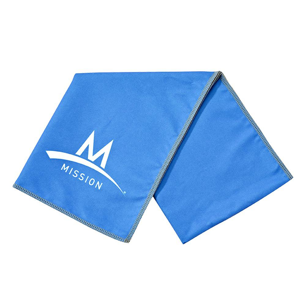 Mission Enduracool Large Microfibre 84 x 31 cm Blue