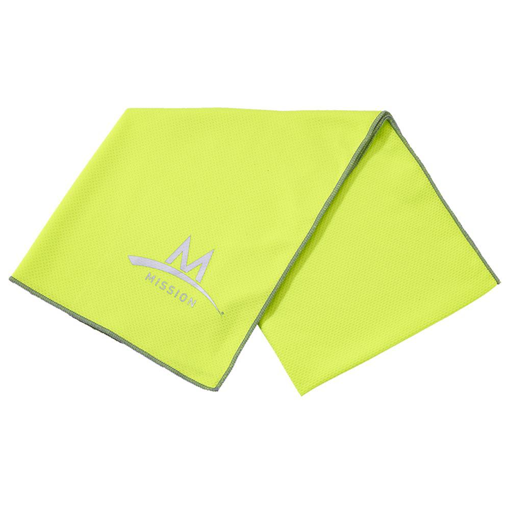 Mission Enduracool X Large Techknit 92 x 38 cm High Vis Green