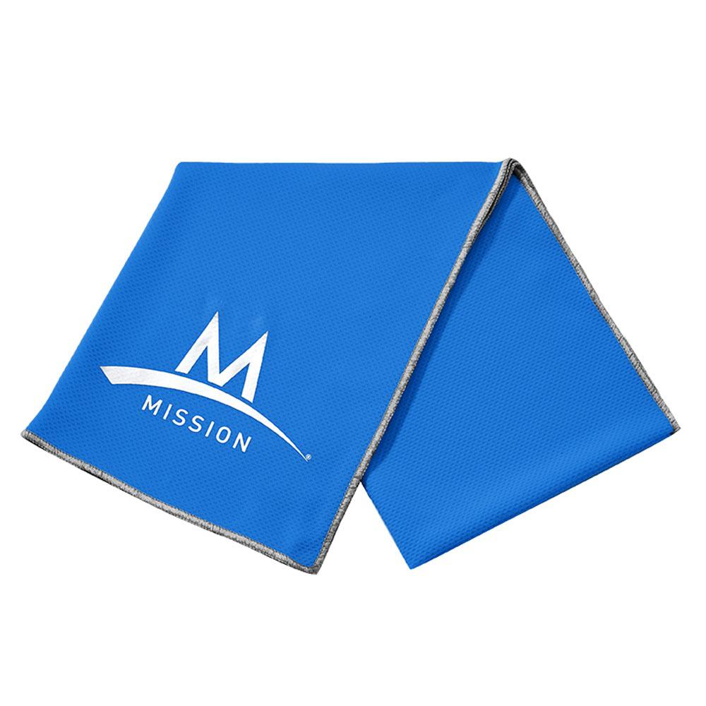 Mission Enduracool Large Techknit 84 x 31 cm Blue