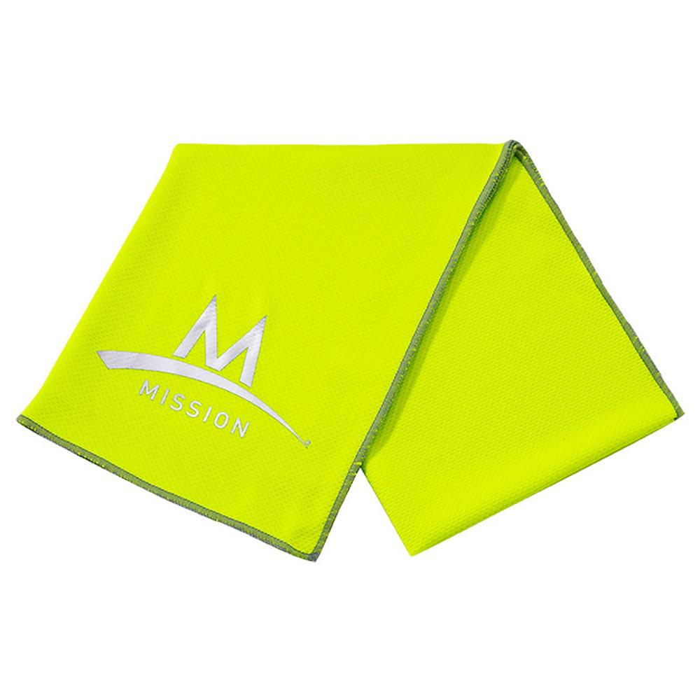 Mission Enduracool Large Techknit 84 x 31 cm High Vis Green