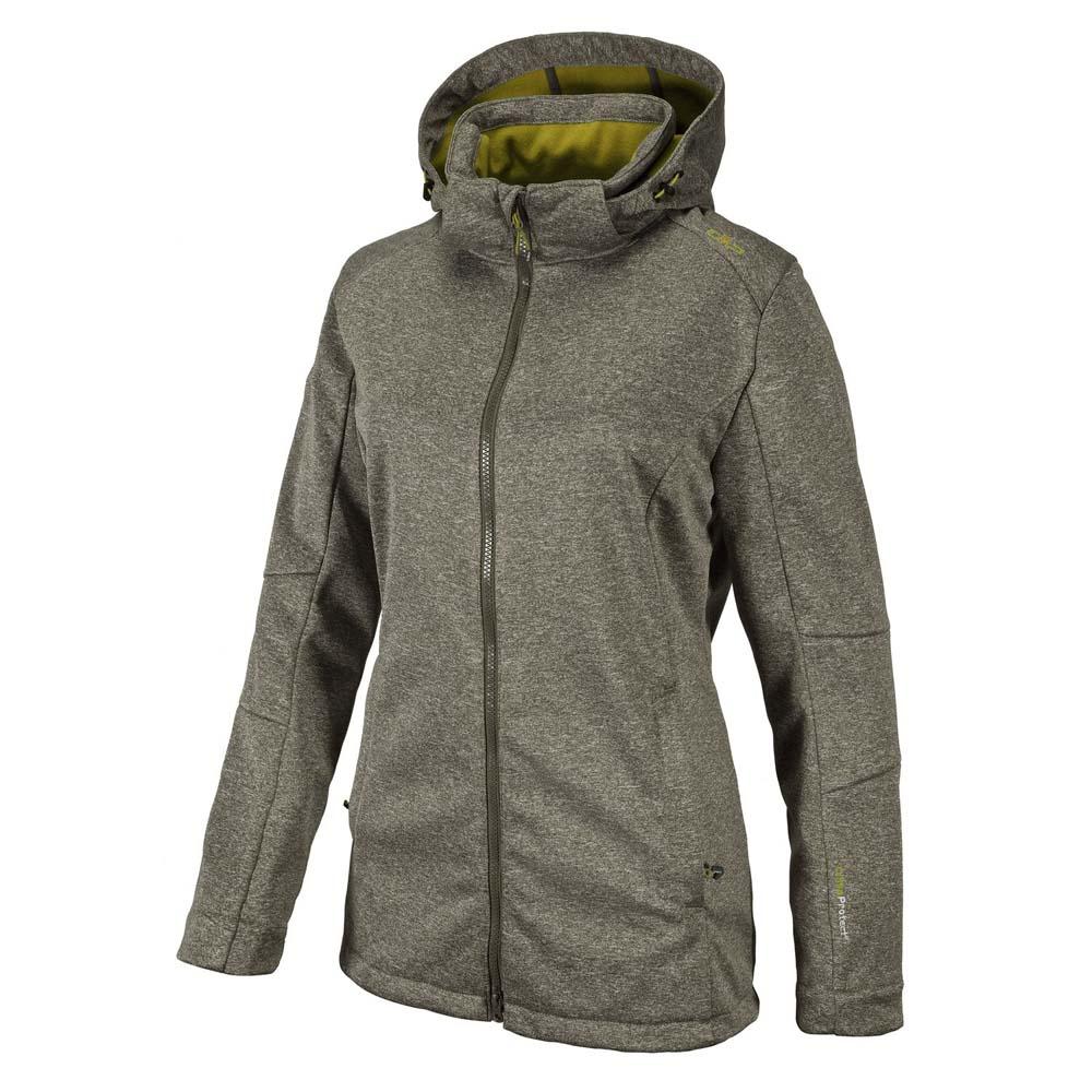 cmp-fix-hood-jacket-melange-xxxxl-black-olive-melange-olive
