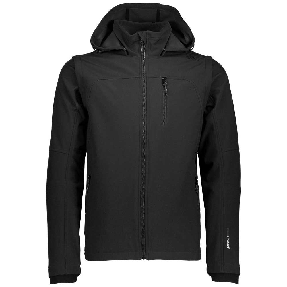 cmp-jacket-snaps-hood-with-detechable-sleeves-s-black