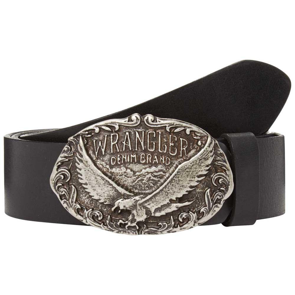 Wrangler Ctf Eagle Bckl 115 cm Black