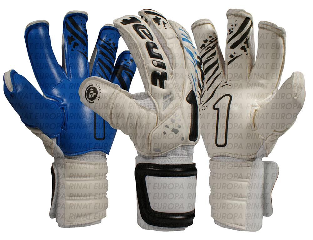 Rinat Asimetrik Spines Goalkeeper Gloves 7 White / Black / Blue