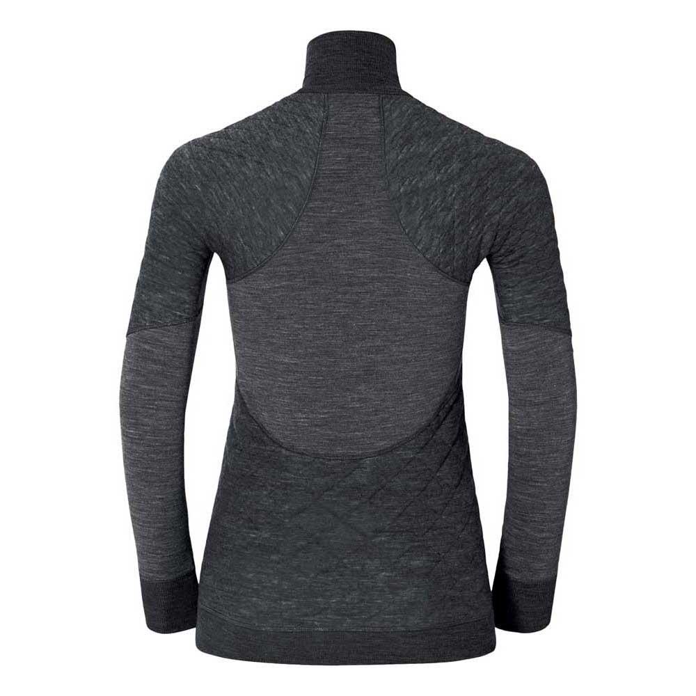 2 Neck Zip Nero Magliette Odlo 1 L Turtle Shirt Revolution Montagna s qFYwAxOw