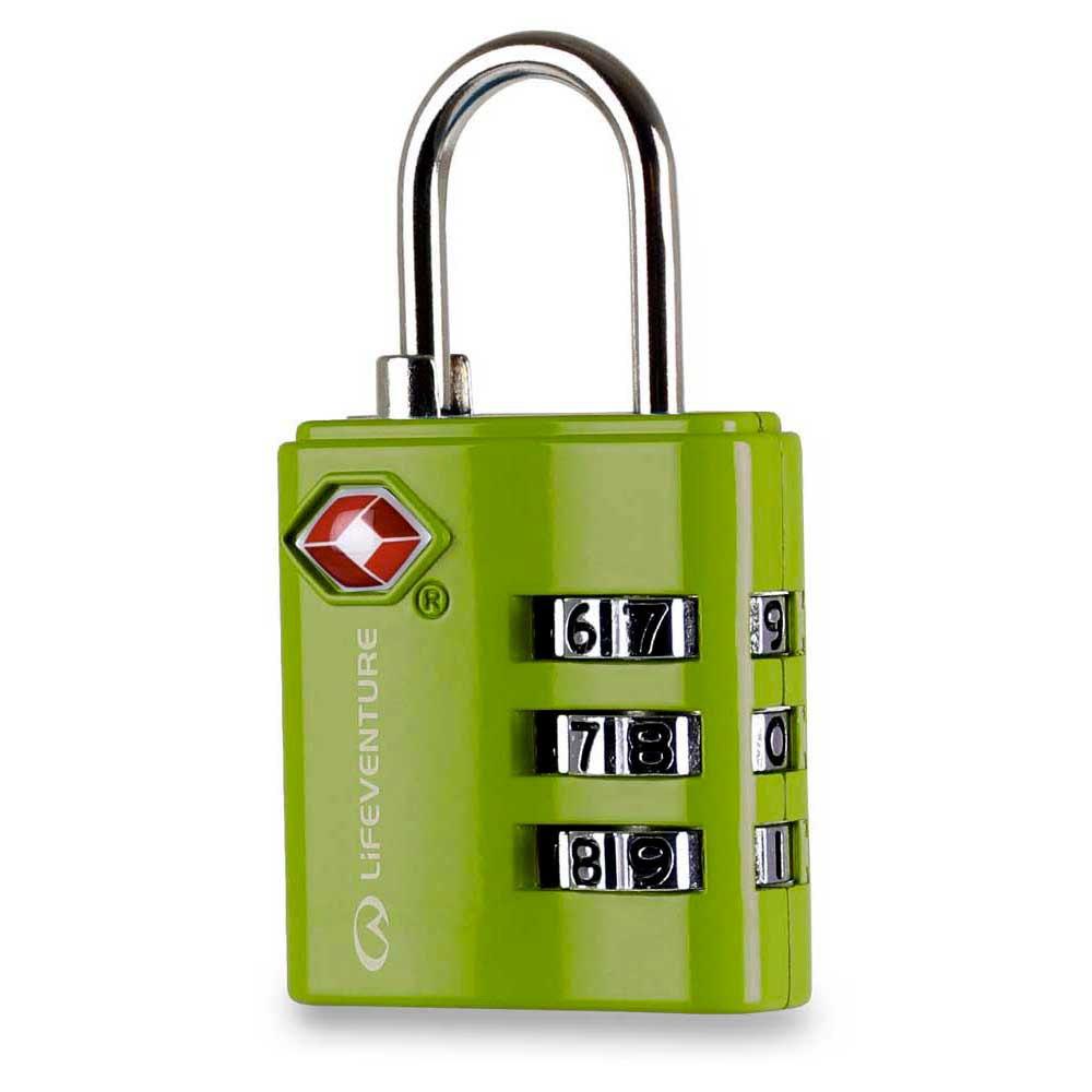 Lifeventure Tsa Combi Lock One Size Green