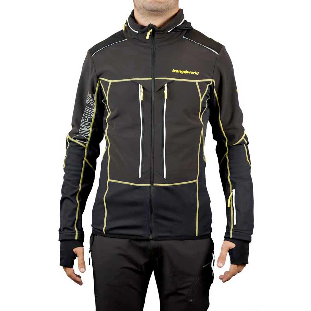 Trangoworld Paak Man Jacket S Black / Black