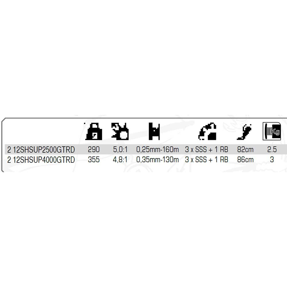 Shimano Super Gt Rd MulticolouROT Shimano , Angelrollen Shimano MulticolouROT , angelsport e8906e