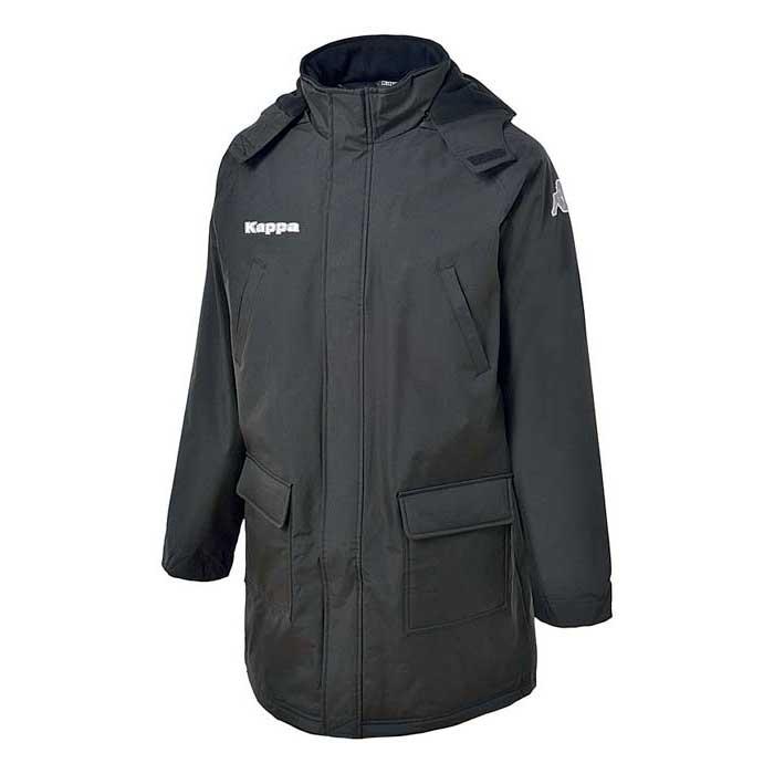 Kappa Mateo Jacket Long Parka XL Black