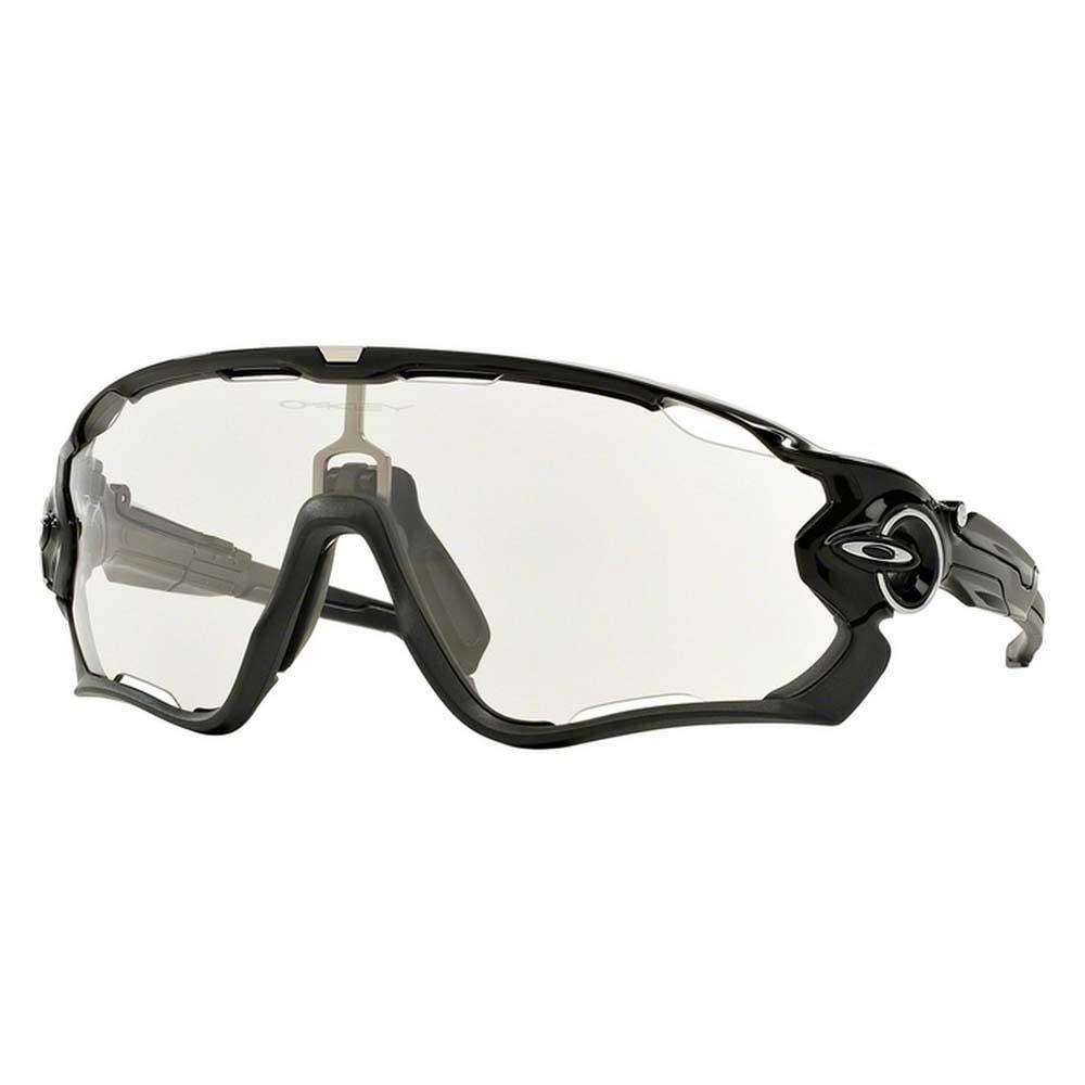 Gafas Jawbreaker Polished Black W/ Clear To Photochromic