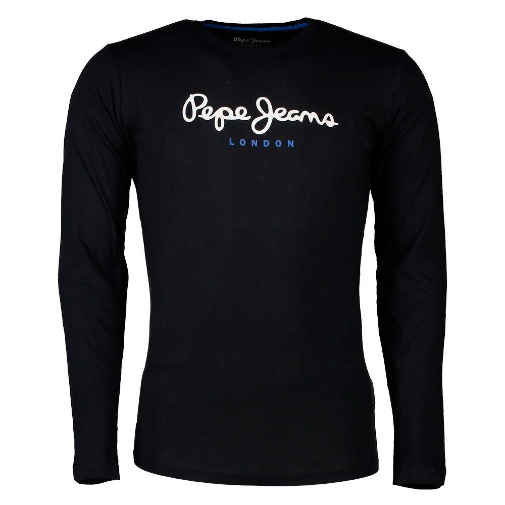 8bb4be96e49 Pepe-Jeans-Eggo-Long-Black-T-Shirts-Pepe-