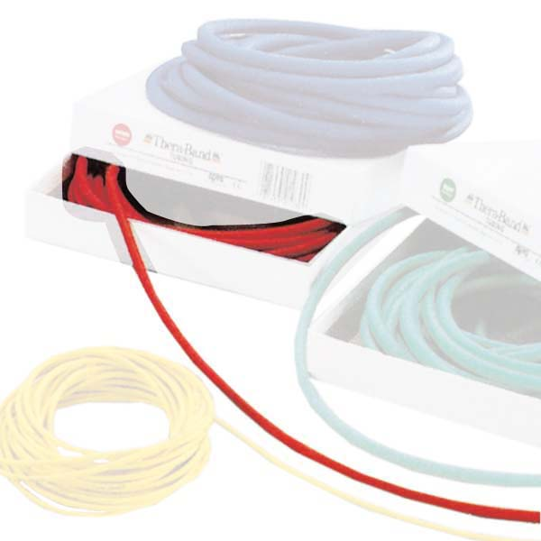 Theraband Tubing Medium 7.5 M X 0.6 Cm 7.5 m x 0.6 cm Red