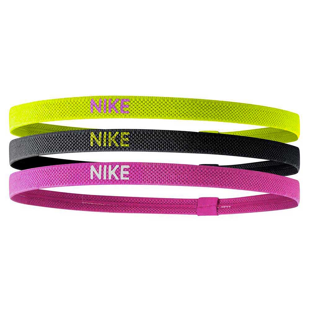 Nike Accessories Elastic 3 Units One Size Volt / Black / Hyper Pink