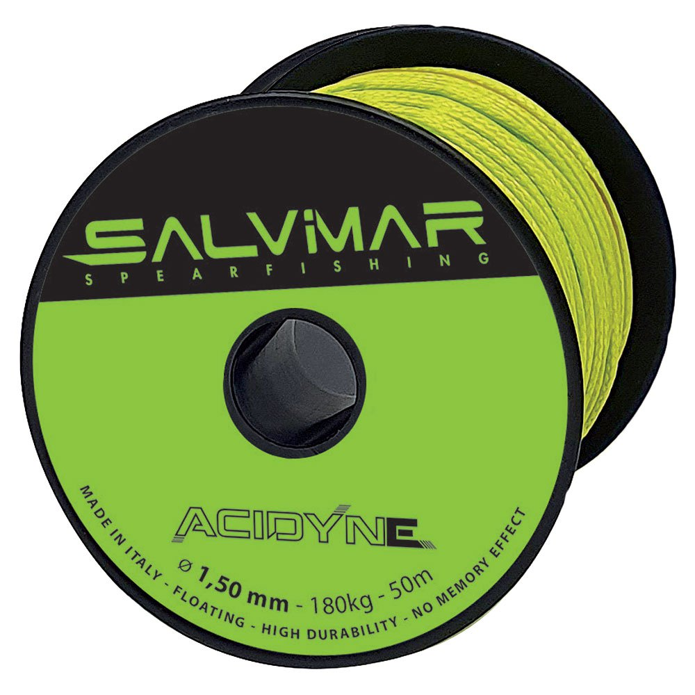Salvimar Salvimar Salvimar Acidyne Dyneema Line 50 M Multicouleur , Lignes nylon et dyneema fa749a