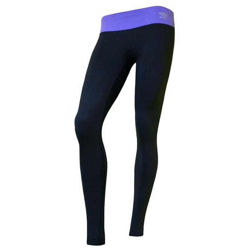 Umbro Tights L Carbon / Purple Hebe